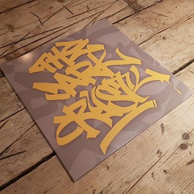 HJ001 - DJ Crystl - The Dark Crystl - Vinyl Release-1