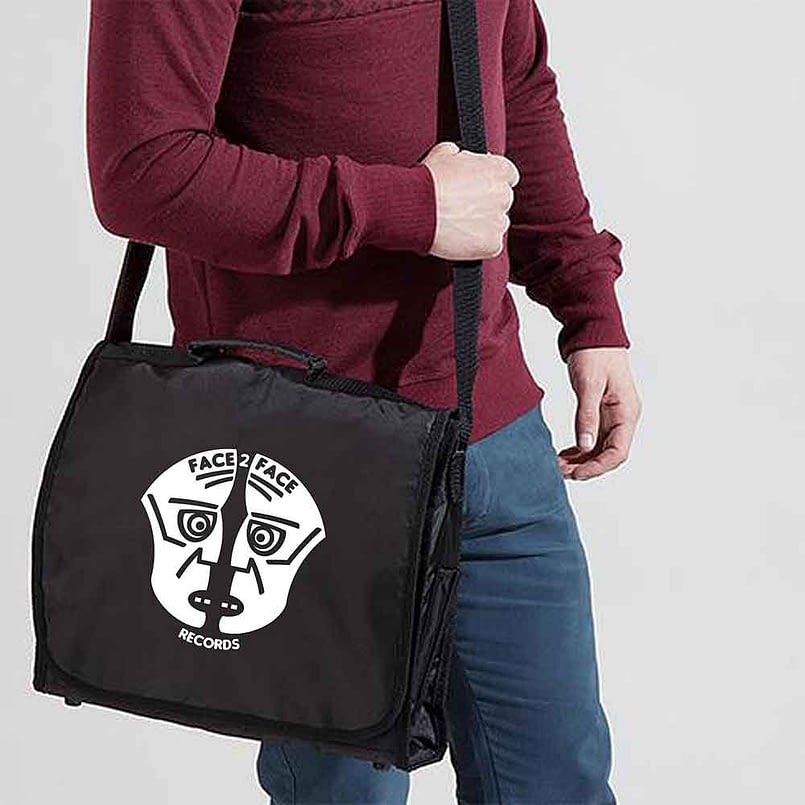 Face 2 Face Black Record Bag