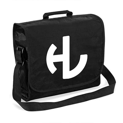 Hardleaders Black Record Bag