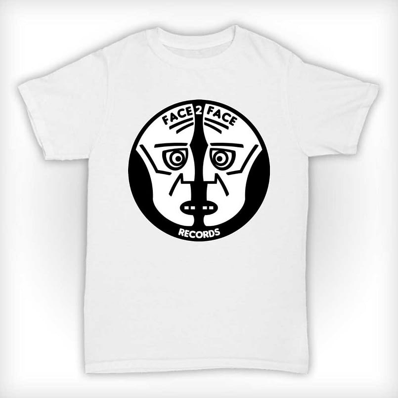 Face 2 Face Records T Shirt - White