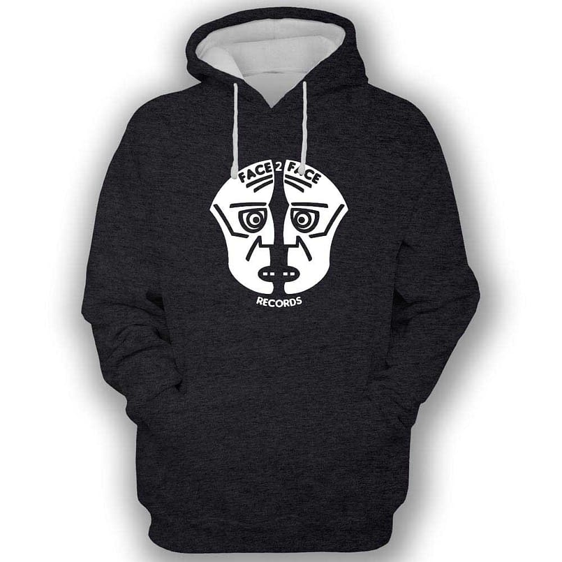 Face 2 Face Records Black Hoodie