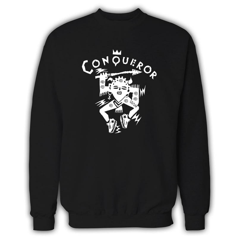 Conqueror Black Sweatshirt