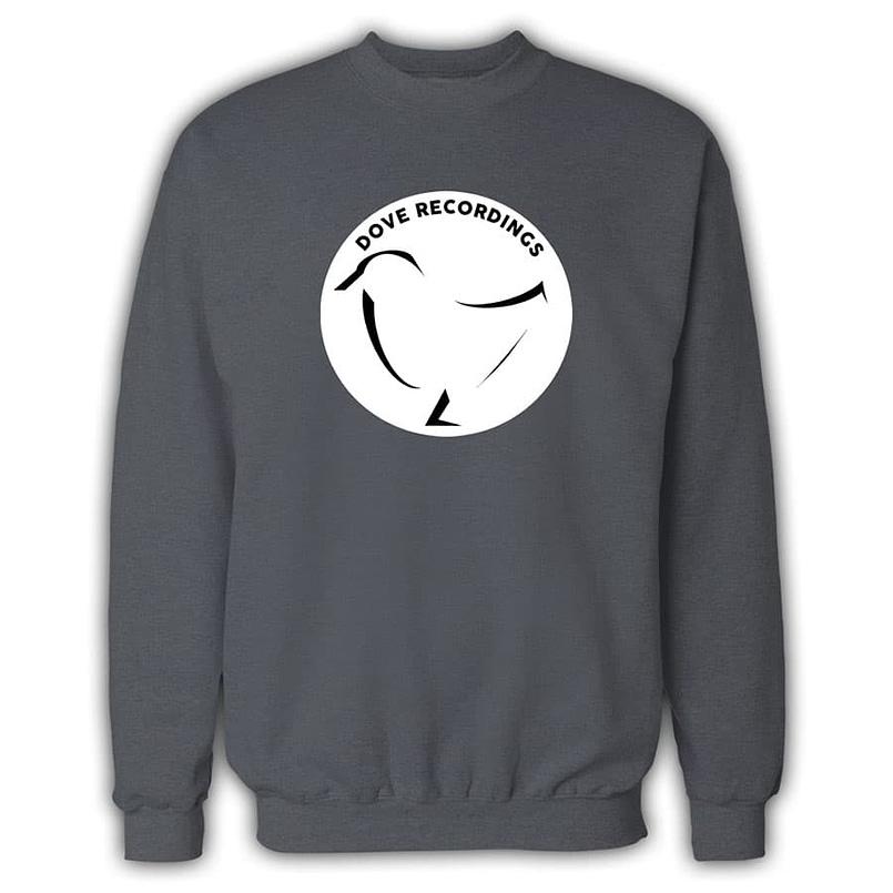 Dove Recordings Record Label Sweatshirt In Grey