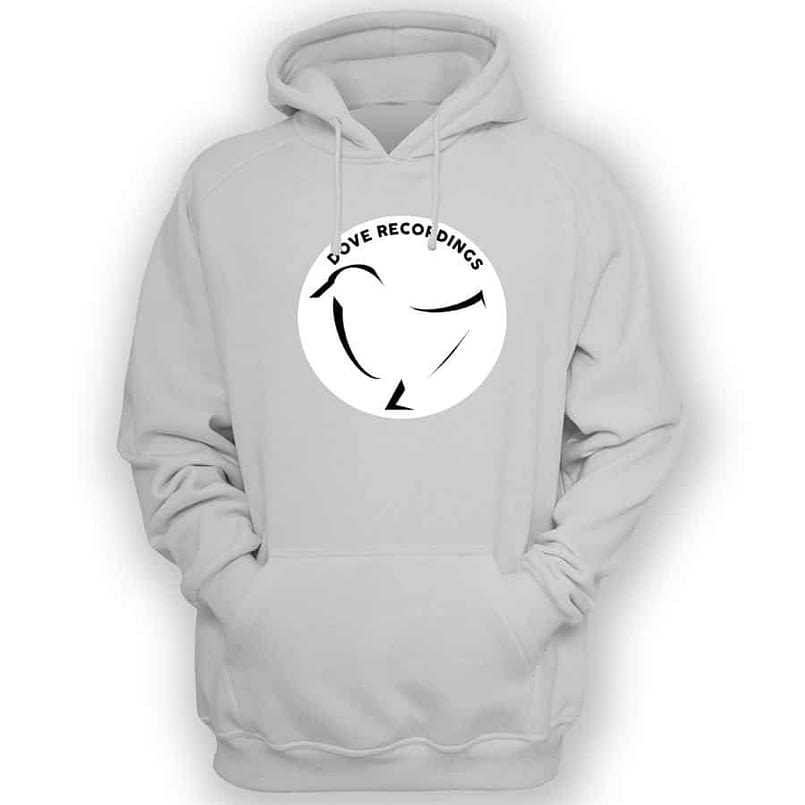 Dove Recordings - Hooded Sweater In White