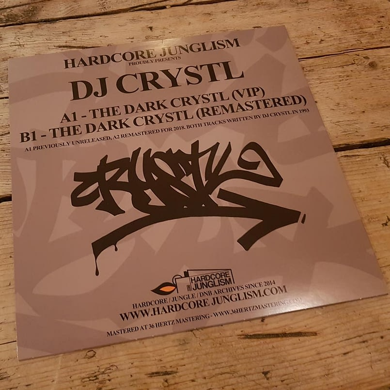 HJ001 - DJ Crystl - The Dark Crystl - Vinyl Release-5