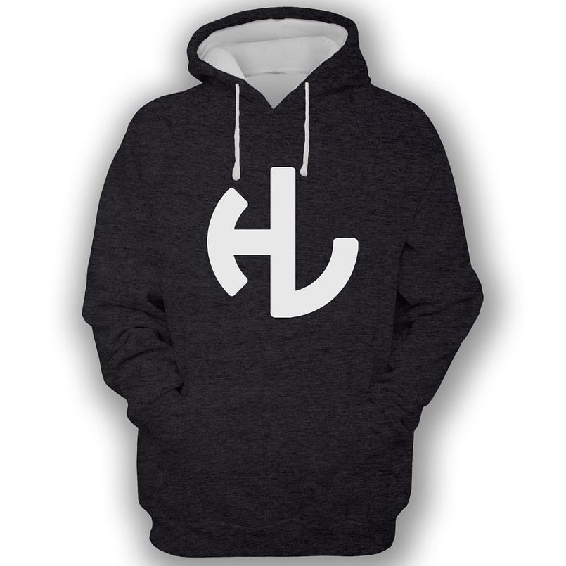Hardleaders Black Hooded Sweatshirt