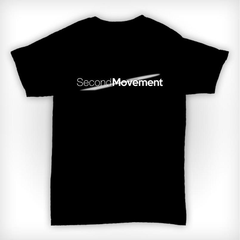 Second Movement T Shirt Black