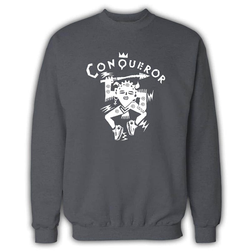 Conqueror Grey Sweatshirt