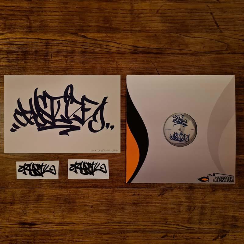 HJ002 - DJ Crystl - Crystlized / Crystlize ( 2021 Re Master ) - VIP VINYL PACKAGE