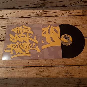 HJ001 - DJ Crystl - The Dark Crystl - Vinyl Release-3